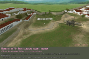 Morgantina VR archaelogical reconstruction by Jarien Skywall for Archimedes Digital