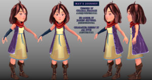 May's Journey main character